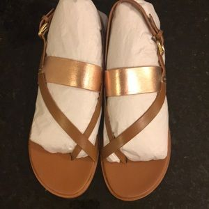 2ceed3f0e2af Cole Haan Shoes - NEVER WORN Cole Haan Rose Gold Anica Thong Sandal